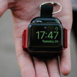 Power bank for Apple Watch fra Rescuejuice