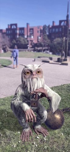 Bilde av Harry Potter Wizards Unite spillet, bilde av troll