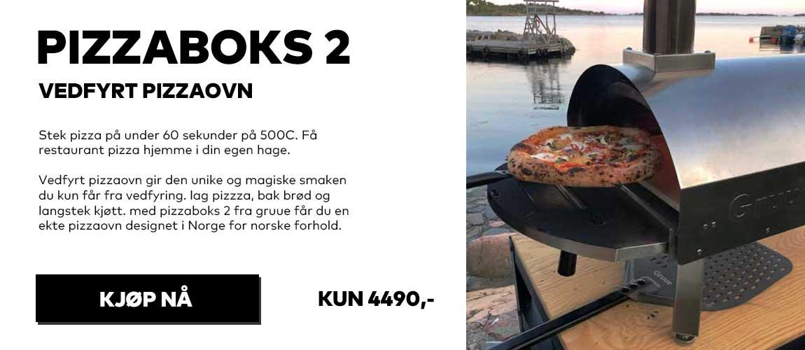 Norges beste pizzaovn vedfyrt pizzaovn fra gruue